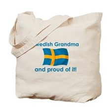 Proud Swedish Grandma Tote Bag