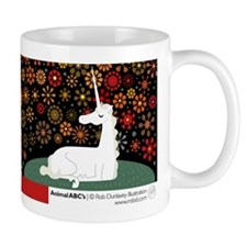 U is for Unicorn Mug
