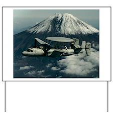 AWACS: E2C Yard Sign