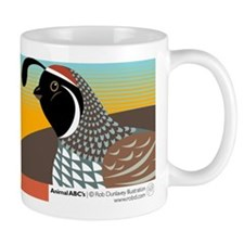 Q is for Quail Mug