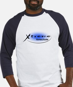 X-Treme Homeschooler Light Bl Baseball Jersey