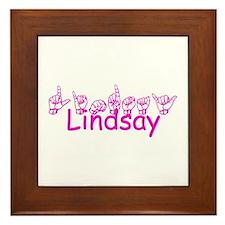 Lindsay Framed Tile