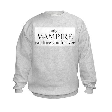 Vampire love Kids Sweatshirt