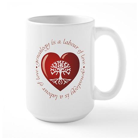 Labour Of Love Large Mug