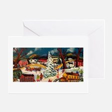 Artistic Christmas Tree Greeting Card