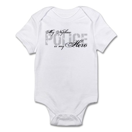 My Nephew is My Hero - POLICE Infant Bodysuit
