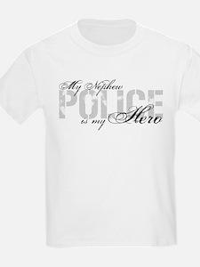 My Nephew is My Hero - POLICE T-Shirt