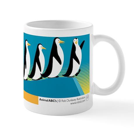 P is for Penguin Mug