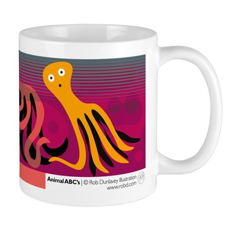 O is for Octopus Mug