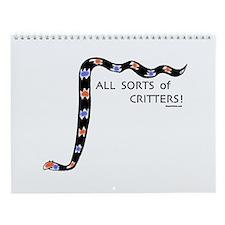 Crazy Critter Calendar