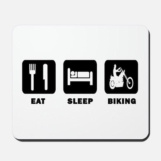 Eat,Sleep,Biking Mousepad