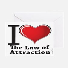 Love the Law of Attraction Greeting Card