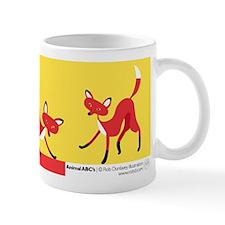 F is for Fox Mug