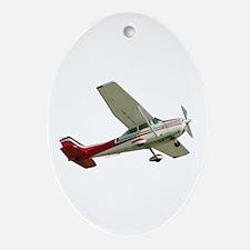 Solo Flight Oval Ornament