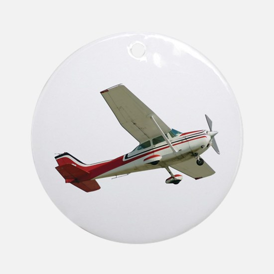 Solo Flight Ornament (Round)