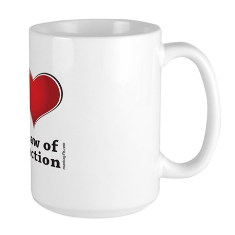 Love the Law of Attraction Large Mug