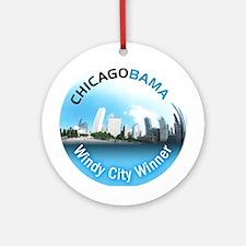 Chicagobama Ornament (Round)