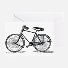 Old Bike (M) Greeting Cards (Pk of 20)