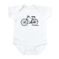 Old Bike (M) Infant Bodysuit