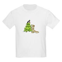 Golden Retriever Christmas T-Shirt