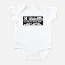 Rated B Infant Bodysuit
