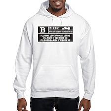Rated B Hoodie Sweatshirt