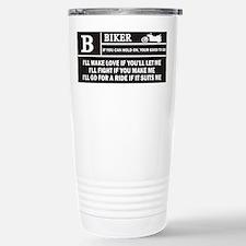 Rated B Travel Mug