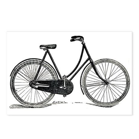 Old Bike (F) Postcards (Package of 8)