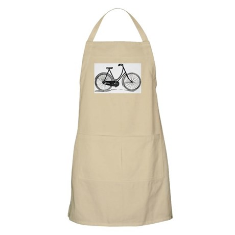Old Bike (F) BBQ Apron