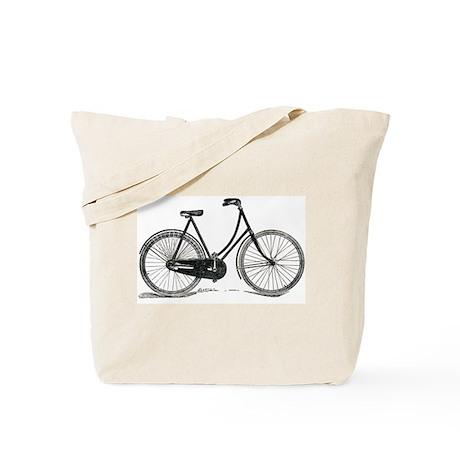 Old Bike (F) Tote Bag