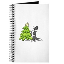 Border Collie Christmas Journal