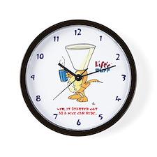 Life's Ruff Clock Wall Clock