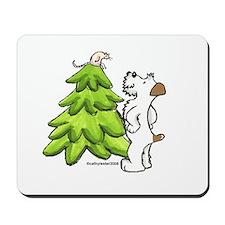 Jack Russell Christmas Mousepad