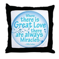 Great Love Throw Pillow