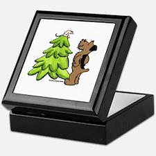 Airedale Terrier's Christmas Keepsake Box