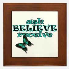Cute Attractions Framed Tile