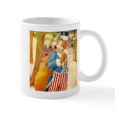 Uncle Sam Santa Claus Mug