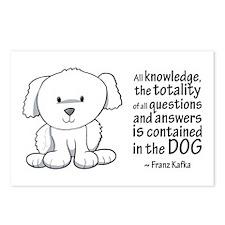 Kafka Dog Postcards (Package of 8)