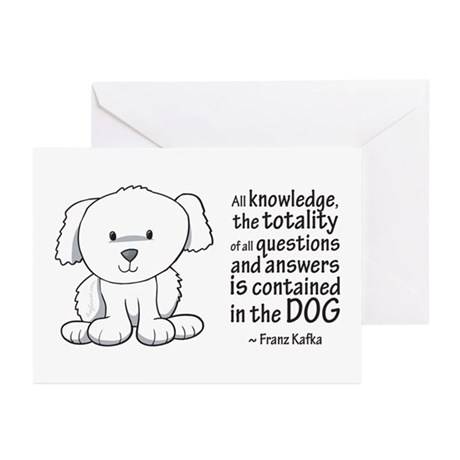 Kafka Dog Greeting Cards (Pk of 10)