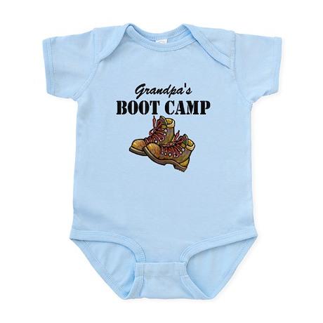 Grandpa's Boot Camp Infant Bodysuit