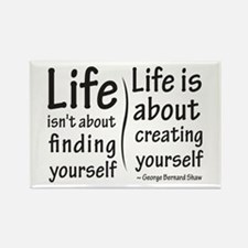 Life Isn't About Rectangle Magnet