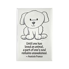 Loved an Animal Rectangle Magnet