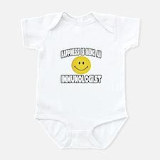 """Happiness...Immunologist"" Infant Bodysuit"