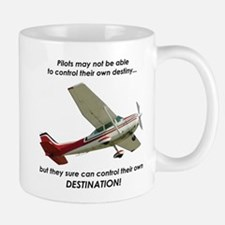Pilots control their own destination Mug