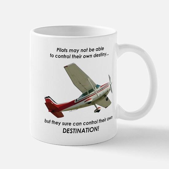 Pilots control their own destination Mug