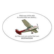 Pilots control their own destination Decal