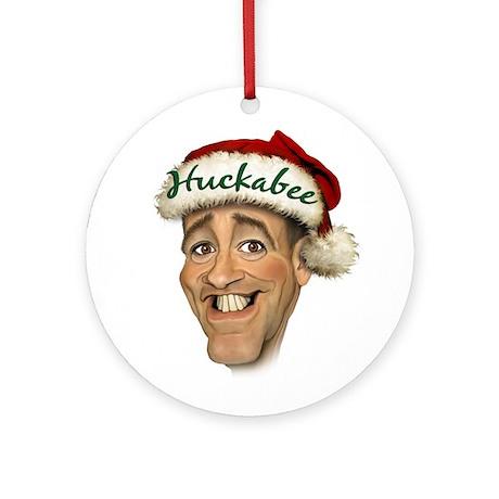 Huckabee Ornament (Round)