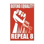 Defend Equality new Desing v2 -Mini Poster Print
