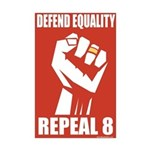 Defend Equality new Desing v1 -Mini Poster Print