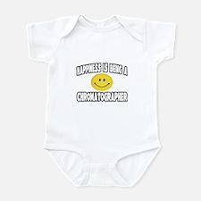 """Happiness..Chromatographer"" Infant Bodysuit"